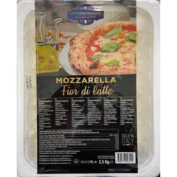 Mozzarella Fiori di Latte               2.5kg
