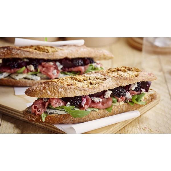 Petit pain rustique multicereales 125gr